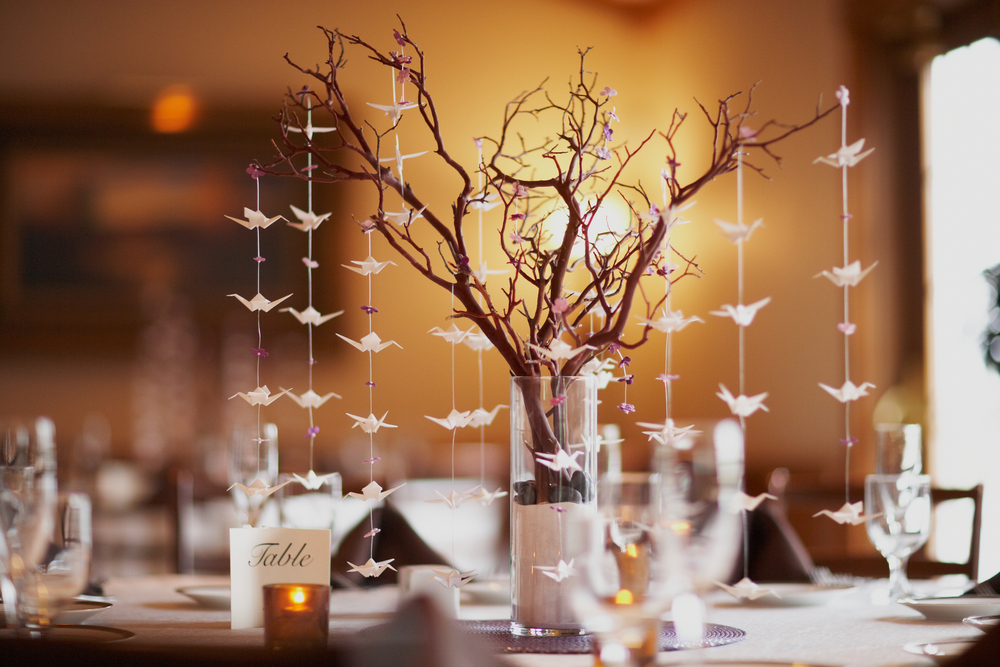 Non-Floral Wedding Centerpiece Ideas